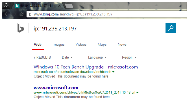 Thanks to Bing you can verify which websites are hosted by the given IP address