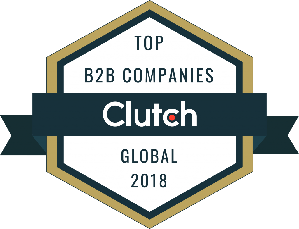 The Software House's Clutch 1000 badge naming us one of the top B2B companies in the software development outsourcing industry